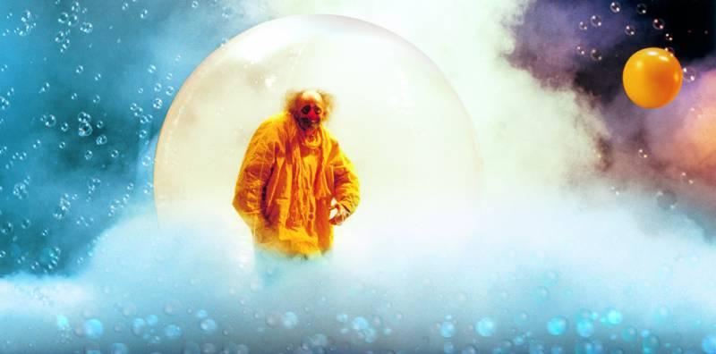 Зимнее шоу Славы Полунина