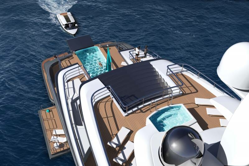 77-metre Quantum superyacht project by Ken Freivokh and Turquoise
