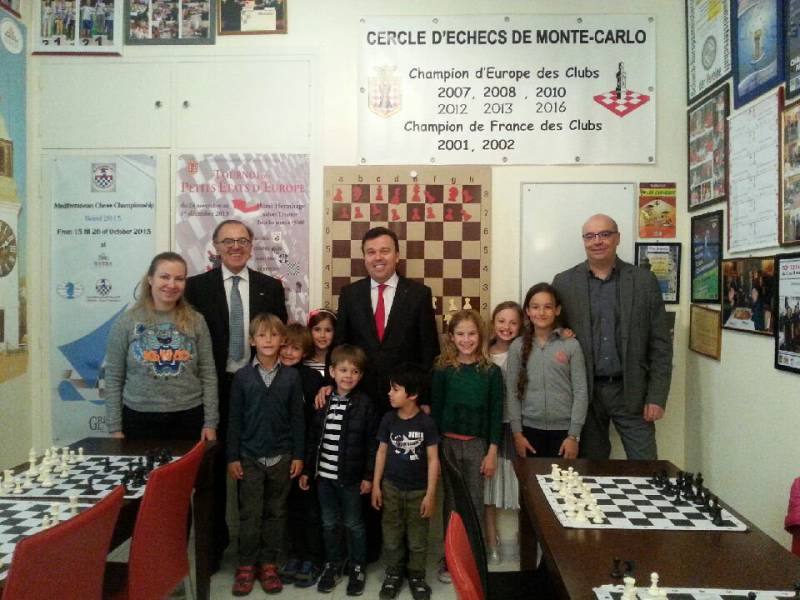 Photo of Check Mate: European Kings are never safe with the lady Chess Champions of Monte Carlo