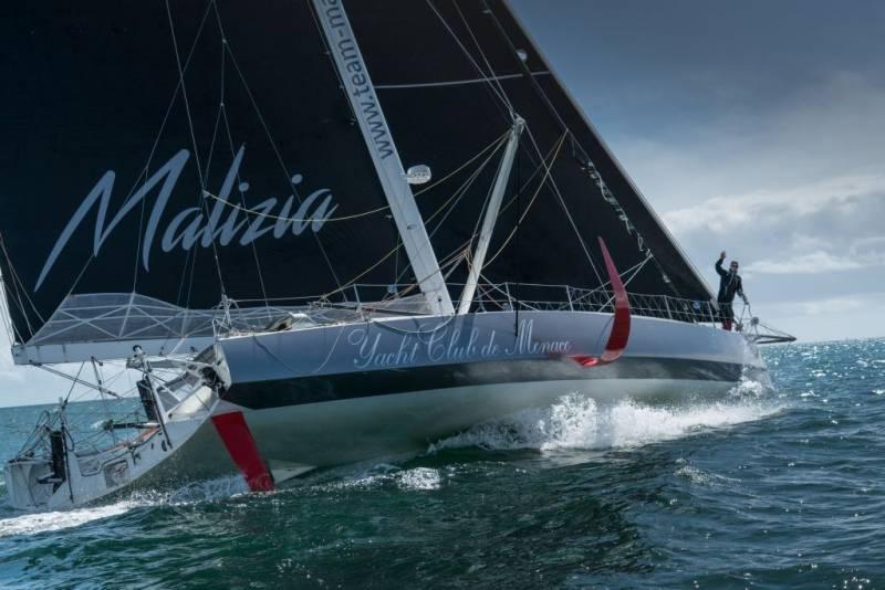 Malizia II Yacht Club de Monaco