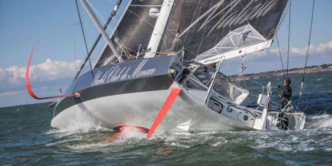 Monaco Yacht Club's Boris Hermann Races Furiously Across the Ocean to Guadeloupe
