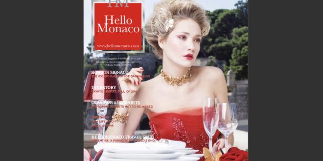 Winter Issue of Hello Monaco Magazine