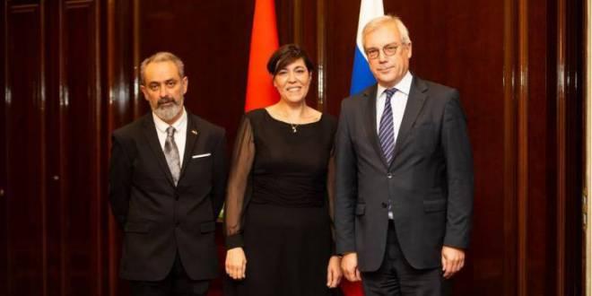 MC State News: дипломатический прием Монако в Москве