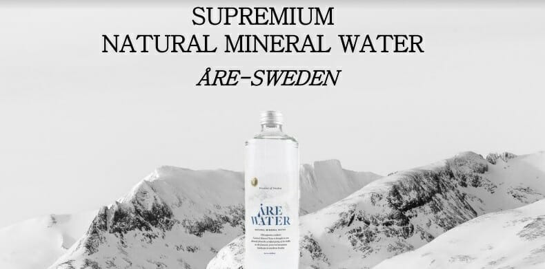 "Victoria Silvstedt is a New Ambassador of Swedish Mineral water ""Are Water"""