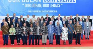Prince Albert at the 5th International 'Our Ocean' Conference