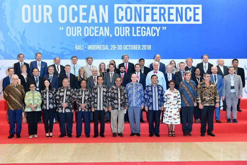 Photo of Prince Albert at the 5th International 'Our Ocean' Conference and other princely news