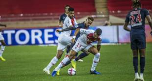 AS Monaco lost (0-4) against Paris Saint-Germain