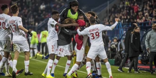 Long-awaited and precious victory of AS Monaco against SM Caen 1-0