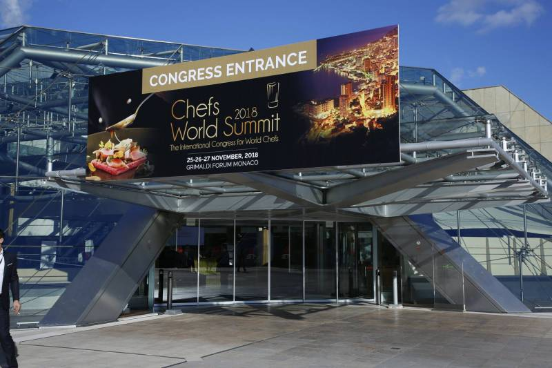"Photo of The best international culinary experts fostered the new eco-gourmet cuisine at Monaco ""Chefs World Summit 2018"""