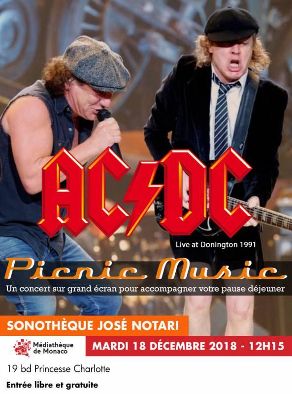 Picnic Music: концерт AC/DC