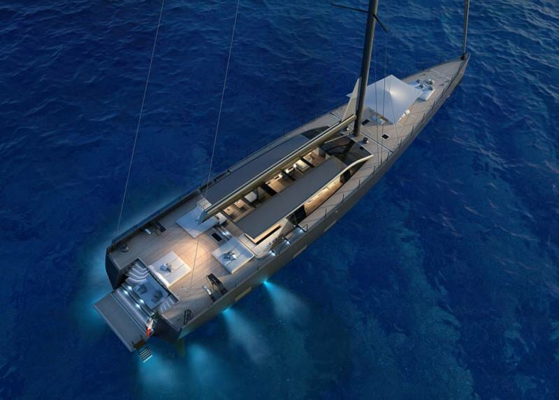 Second 42-meter sailing yacht E-Volution sold by Perini Navi