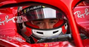 Charles LeClerc, Lightning Fast in Ferrari trials in Abu Dhabi