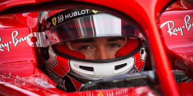 Charles LeClerc, Lightning Fast in Ferrari trials in Abu Dhabi