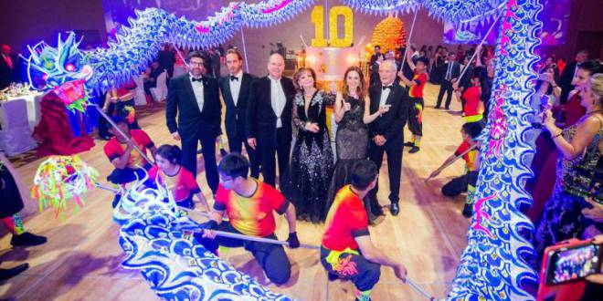 Gala in Singapore for Prince Albert II Foundation raises 1 Million Euros