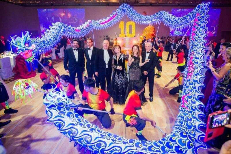 Photo of Gala in Singapore for Prince Albert II Foundation and other Monaco news