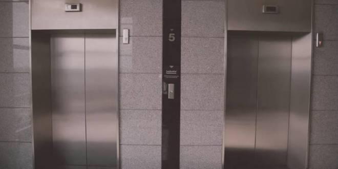 Elevator in Vertiginous Descent by Sainte Devote Rescued By Safety System