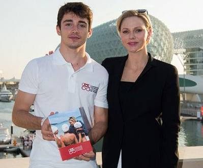 Charles Leclerc is Ambassador for Princess Charlene Foundation
