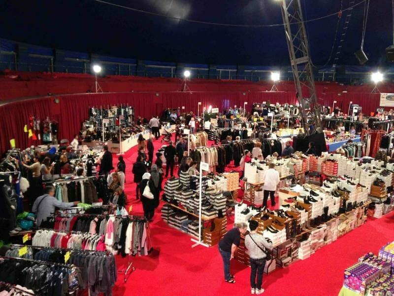 Большая ярмарка-распродажа в Фонвьей