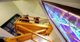 Новая подсветка для витражей часовни Chapelle des Carmes