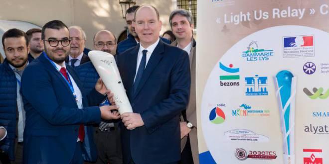 Запуск «Light Us Relay» - убедительное эко-послание княжества в преддверии COP24