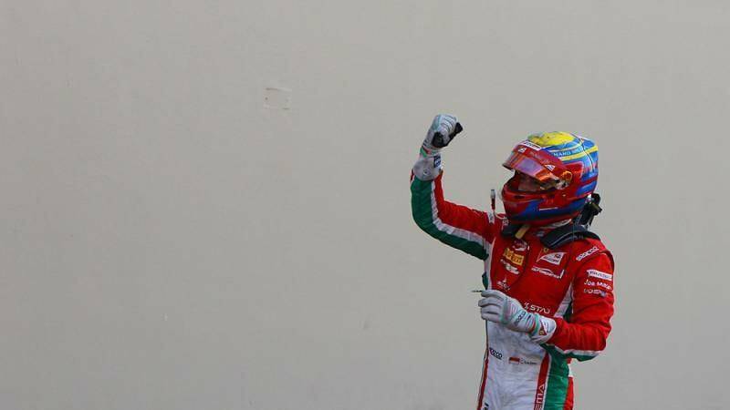 Впервые за рулем Феррари: Шарль Леклер