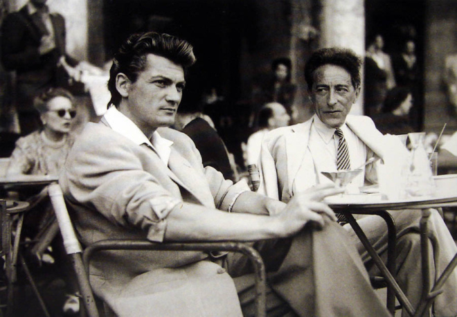Jean Marais, star of Jean Cocteau in Menton