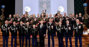 The Palace Guards Celebrate St. Sebastian's Day