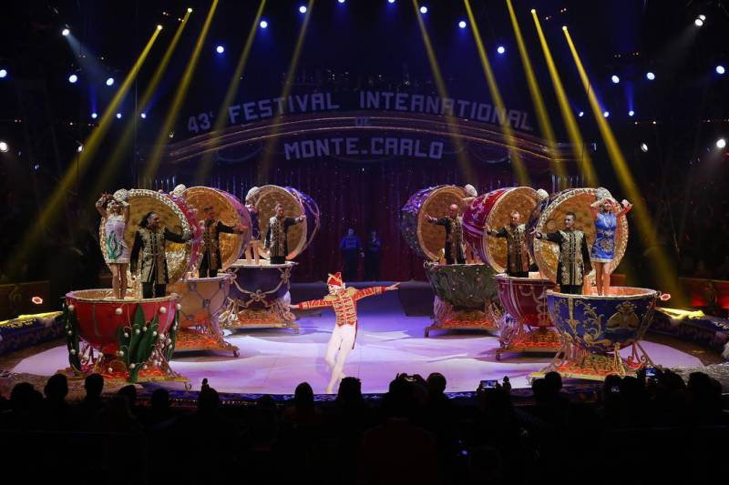 Photo of Roars of Delight at the Circus Festival: The Golden Clowns Enchant