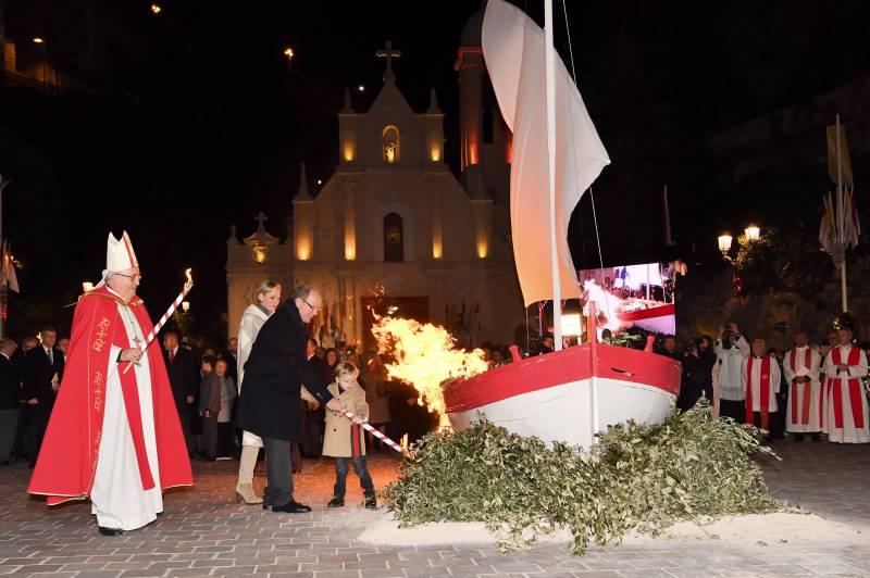 Monegasque renewed traditional euphoria for Santa Devota