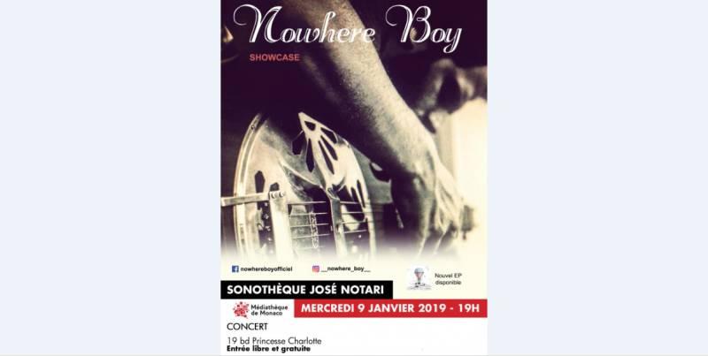 Концерт Nowhere Boy