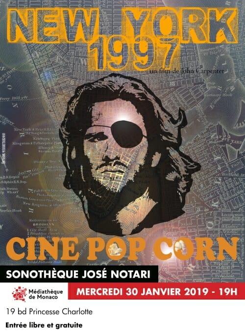 """Pop Corn Cinema: """"New York 1997"""" by John Carpenter"""