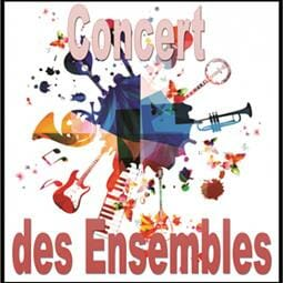 """Concert des Ensembles"" by the students of the Rainier III Academy"