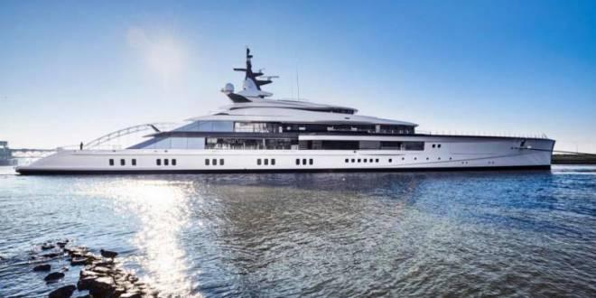 Oceanco delivers 109m Bravo Eugenia to Dallas Cowboys owner