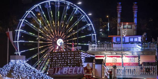 Monaco Christmas Village sprinkled all visitors with 2019 good vibes