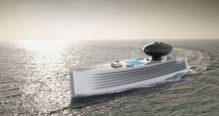 Design Agency Tjep presented a new electric yacht concept EAU