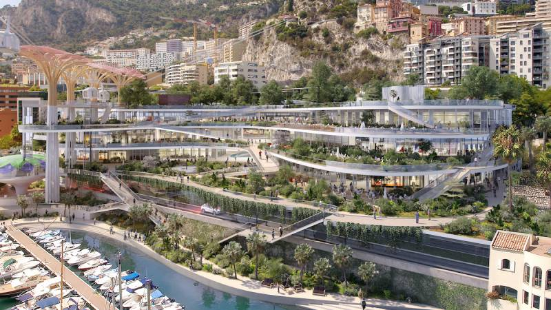 New Architecture will Reinvent Fontvieille: what to expect