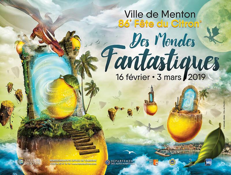 86th Lemon Festival in Menton