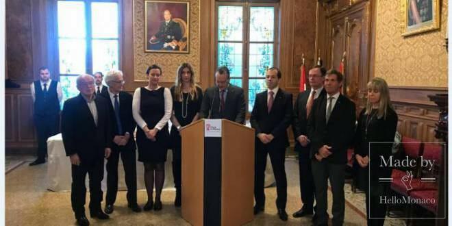 Традиционные новогодние пожелания мэра Монако прессе
