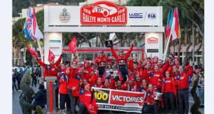 7-й триумф Себастьена Ожье на Ралли Монте-Карло
