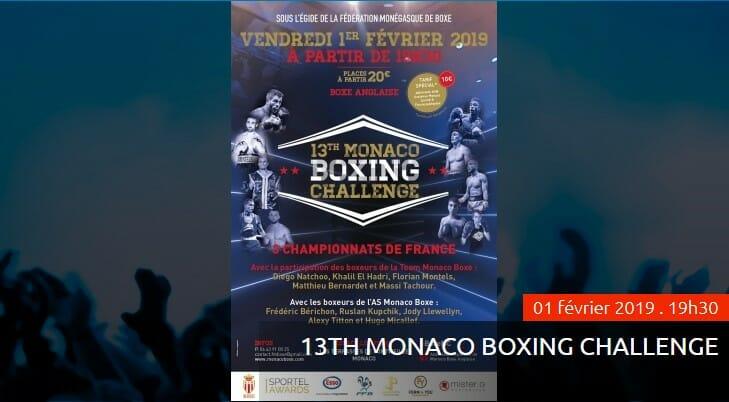 13-й Турнир по боксу Monaco Boxing Challenge