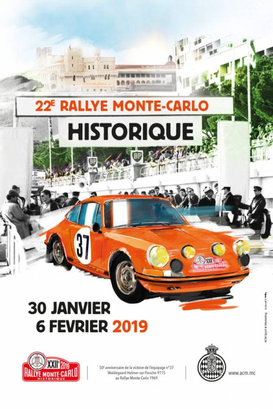 22nd Historic Monte-Carlo Rally