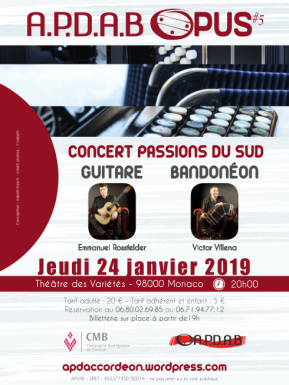 """Concert """"Southern Passions"""""""