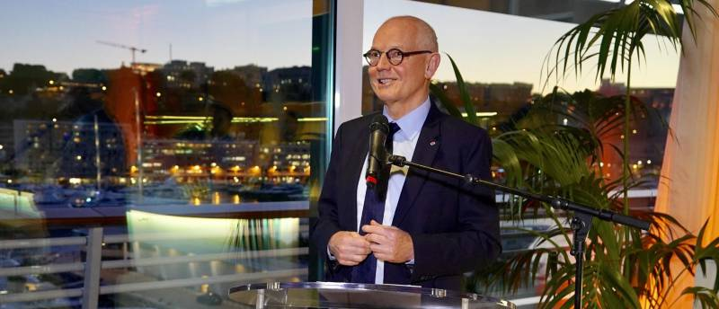 Photo of Minister of State Serge Telle Warmly Embraces Free and Healthy Press in 2019