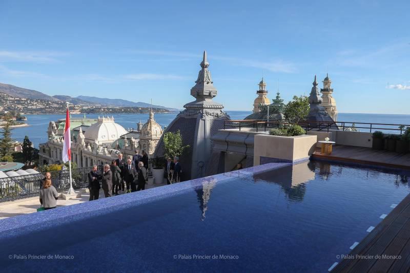 Photo of Suite Prince Rainier III at Hotel de Paris and other Monaco news