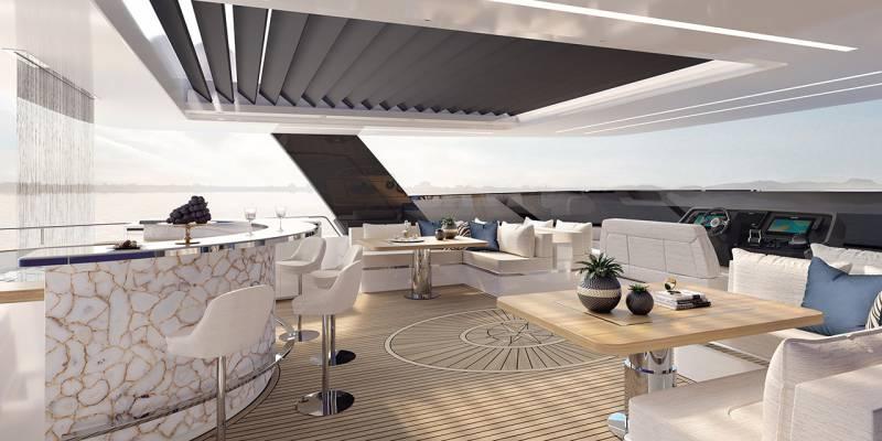 80 Sunreef Power catamaran- interior's first look