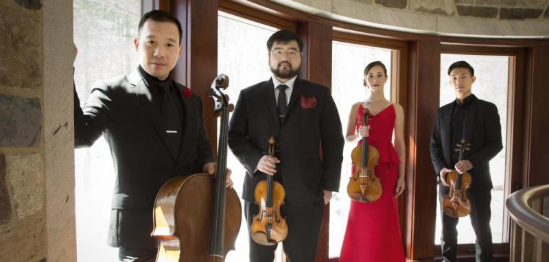 Monte-Carlo Spring Arts Festival: concert by the Quatuor Parker