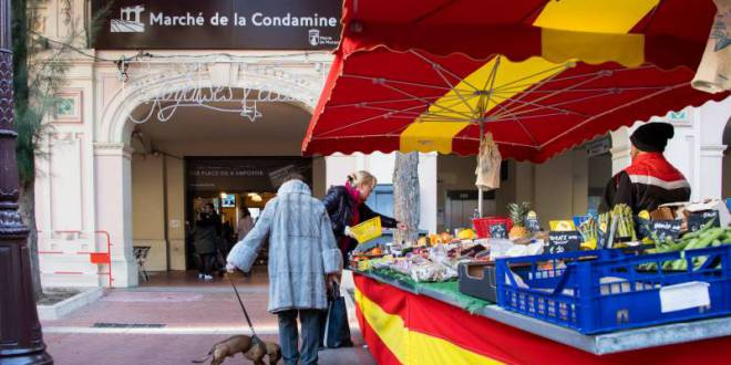Marché de la Condamine's New Look