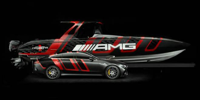 Mercedes to launch a new boat out of their collaborationseries with Cigarette Racing Team