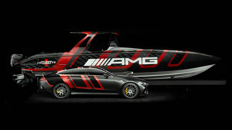 Photo of Mercedes to launch a new boat out of their collaboration series with Cigarette Racing Team and other yacht news