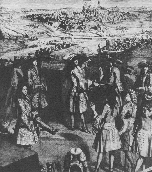 King Louis XIV at the Siege of Mons 1691
